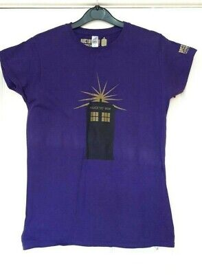 £19.95 • Buy New Who Experience Ladies T-Shirt / Top Tardis Exclusive Size Large