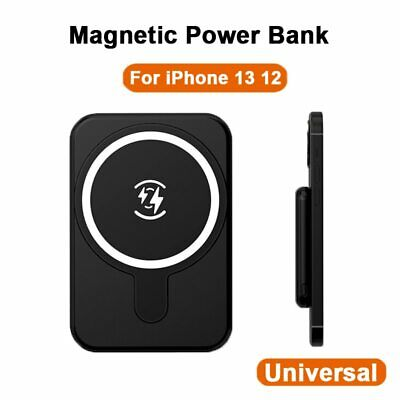 AU27.99 • Buy 5000mAh For IPhone13 MagSafe Portable Magnetic Power Bank Fast Wireless Charging
