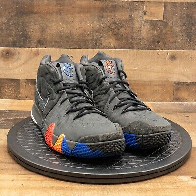$54.77 • Buy Nike Kyrie 4 Year Of The Monkey Men's Athletic Shoes Basketball Gray Black Sz 17