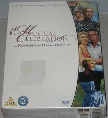 £9.50 • Buy Rodgers And Hammerstein A Musical Celebration  (New & Sealed 12 DVD Box Set)