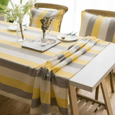 AU12.93 • Buy Kitchen Waterproof Table Cloth Rectangular Tablecloths Dining Table Cover Decor