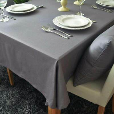 AU20.08 • Buy European Style Gray Decorative Table Cloth Cotton Tablecloth Dining Table Cover