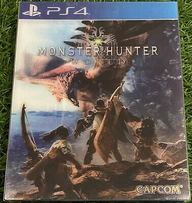 AU25.75 • Buy MONSTER HUNTER: WORLD PS4 LENTICULAR EDITION Launch Copy GAME SUPERB CONDITION