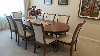 AU100 • Buy Dining Table Set Extendable - 8 Chairs