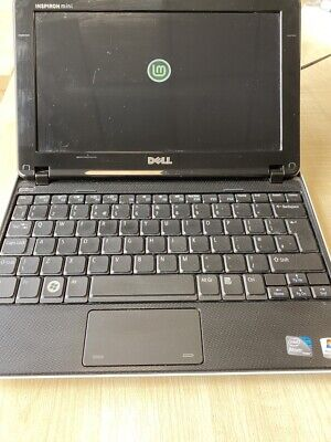 £35 • Buy DELL INSPIRON MINI 1012 LINUX MINT 20.2 WIFI INCLUDES CHARGER And CASE