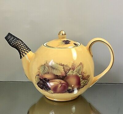 £58 • Buy Aynsley  Orchard Gold Small Teapot 0.75 Pint Unused Condition.