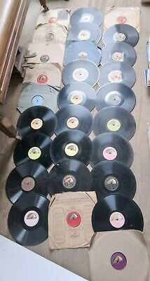 £25 • Buy Large Collection Of Vintage Gramophone Zonophone 12  10  Vinyl Records