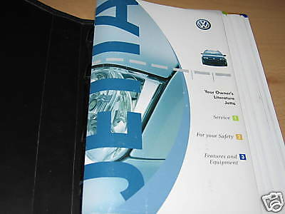 $38.04 • Buy 2005 Volkswagen   Jetta Owners Manual Owner's Set