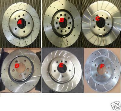 Ford Sierra Cosworth Rs 4x4 Brake Disc Grooved Brake Disc Front Rear • 189.99£