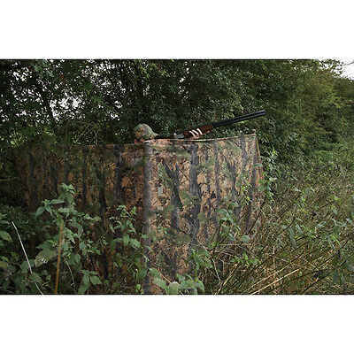 JACK PYKE 2 M CLEARVIEW HIDE NET Tree Camo Game Hunting Camouflage Netting • 16.95£