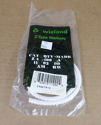 £1.06 • Buy Wieland Z4  Letter A  Z-Type Cable Markers