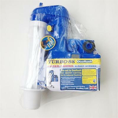 Dudley Turbo 88 2 Part Toilet Syphon Cistern Flush 91/2 Allow Washer Replacement • 22.35£