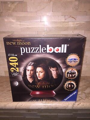 $8.99 • Buy The Twilight Saga New Moon Ravensburger 240 Piece Jigsaw Puzzle Ball