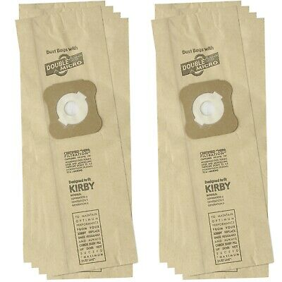10 X Vacuum Cleaner Hoover Dust Paper Bags For Kirby G4 G5 G6 G7 ULTIMATE G • 6.95£