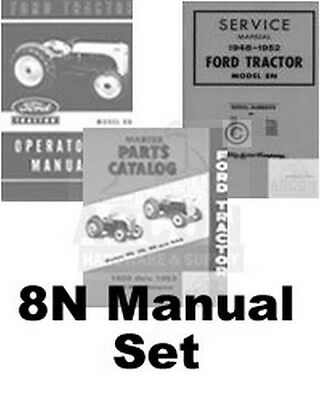 $ CDN61.37 • Buy Ford 8N Tractor Chassis Service Operators Parts Manual