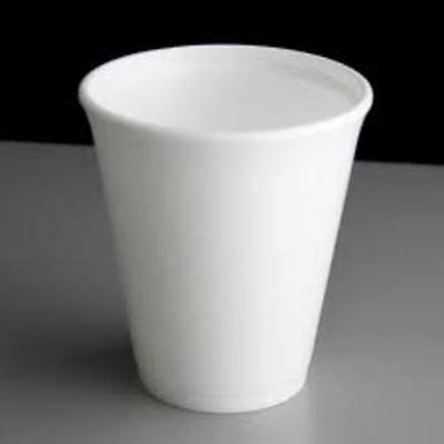 Hot Drink Cups Dart Foam Polystyrene Disposable Party     100 X 12oz Cups   • 9.05£
