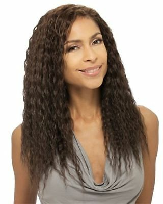 $15.90 • Buy Que Natural Super Weave 10  Wet & Wavy Style By Milkyway Human Hair Mastermix
