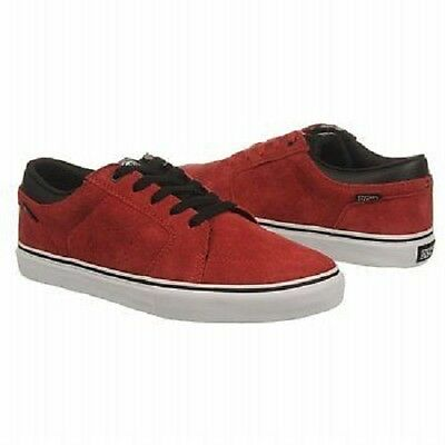 AU65.53 • Buy DVS STAFFORD Mens Skate Shoes (NEW) 9.5-14 Bruise Control : RED SUEDE Free Ship!