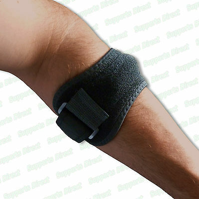 Tennis Golfer Archers Shooters Elbow Strap Support Lateral Syndrome Pain Relief • 6.99£