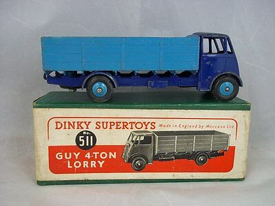 £175 • Buy Dinky Toys #511 - Guy 4-Ton Lorry 1947-54 Two Tone Blue Finish