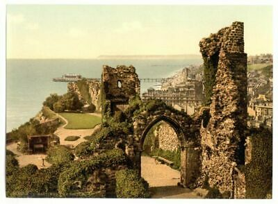 £2.94 • Buy Hastings The Castle ENG Photochrome EPC511 Art Print A4 A3 A2 A1