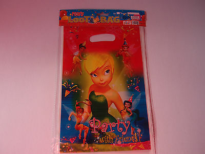 £1.10 • Buy Tinkerbell Birthday Party  Loot/lolly Bags Pk8