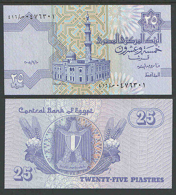 $1 • Buy EGYPT 25 Piastres P57 UNCIRCULATED