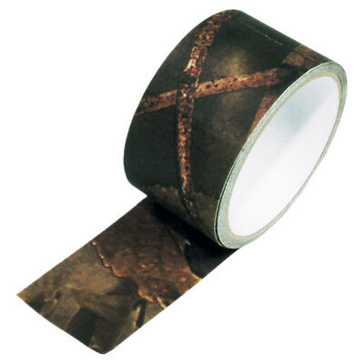 £9.95 • Buy ADHESIVE CAMO TAPE GUN WRAP REUSABLE ARMY SHOOTING AIRSOFT 5cm X 5m HUNTER BROWN