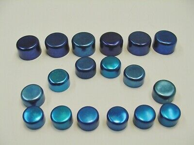 $19.99 • Buy Ford Blue Motor Engine Bolts Caps Covers Dress-up Kit Set 24 4 Sizes NOS Mustang