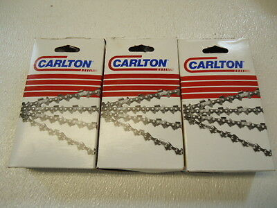 £50.80 • Buy NEW 3 Pk Full Chisel Chain 455 460 Chainsaw 20  3/8 .050 72DL A1LM-072G USA MADE