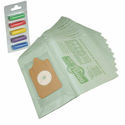 10 Pack Henry HVR200-22 Replacement Vacuum Cleaner Dust Bags + 5 Fresheners • 4.25£