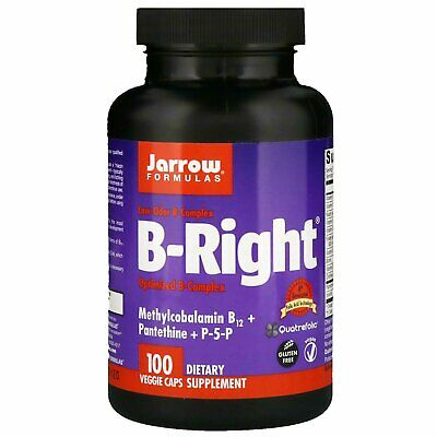Optimized High Potency Vitamin B Complex 100 Veg Capsules | Coenzyme Forms • 22.95£
