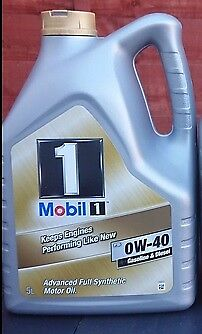 Mobil 1 0w40 Turbo Diesel Fully Synthetic Engine Oil 5 Litre Ltr  • 69.99£