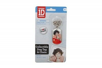 £5.84 • Buy One Direction 1d Harry Dog Tag Chain Necklace Unisex Accessories Brand New