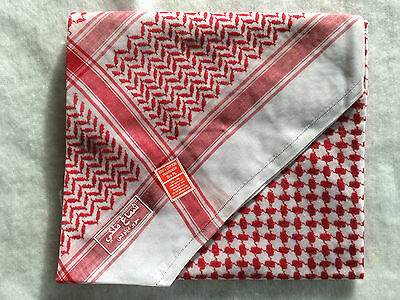 Arab Shemagh Keffiyeh Palestine Scarf Shemagh Shawl Large And Small Available • 12.50£