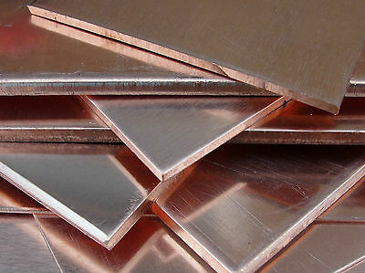 £4.46 • Buy C101 Genuine COPPER SHEET 100 X 100 Mm - 0.5 To 3.0 Mm Thick Metal Plate 4