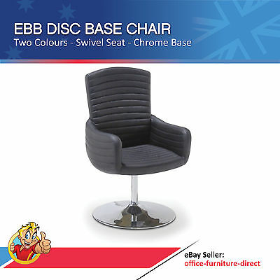 AU249 • Buy Ebb Disc Base Executive Office Meeting Visitor Chair, Reception Furniture, Home