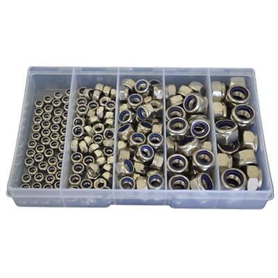 AU28 • Buy Kit Size 190 Hex Nyloc Nut M5 M6 M8 M10 M12 Stainless Steel G304 Grade SS #184