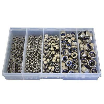 AU29 • Buy Kit Size 225 Nyloc Nut M4 M5 M6 M8 M10 Stainless Steel G304 Grade SS #185