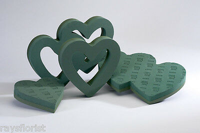 £6.99 • Buy Heart Shape Funeral Tribute Frame Ideal Floral Foam Smithers Oasis Floristry