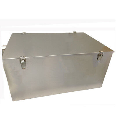 £299 • Buy Grease Trap Stainless Steel 75 Litre Waste Filter Fat Traps Big Restaurant Size