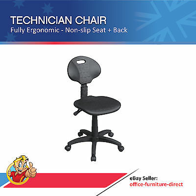 AU187 • Buy Laboratory Chair, Ergonomic Industrial Technician Chairs, Office Computer Stool