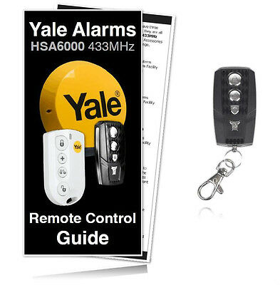 Yale Alarm Remote Premium Compatible Key Fob For Yale HSA6400 Systems RRP £24.99 • 22.99£