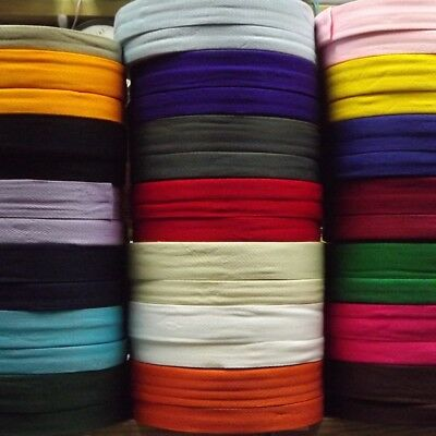21 COLOUR 25mm & 38mm Acrylic Herringbone Webbing Tape Bag Strap BUY 1 2 4 8m • 3.10£