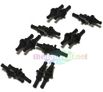 £7.18 • Buy Set Of Sixteen 16 Rubber Vibration Dampening Fan Mounts For Dell + Others NEW!