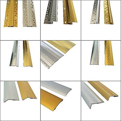Carpet And Flooring Door Bar - Threshold - Metal Strips 3ft & 9ft Lengths Cheap! • 3.99£