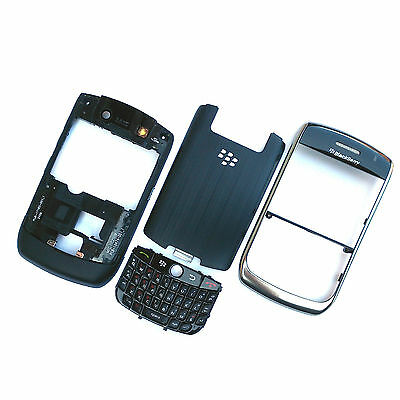 £6.99 • Buy 100% Genuine Blackberry 8900 Curve Housing+keyboard+side Buttons+battery Cover
