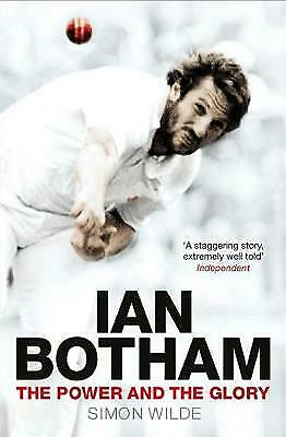 Ian Botham: The Power And The Glory, Wilde, Simon, Very Good Condition, Book • 3.98£
