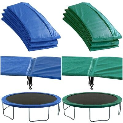 £64.99 • Buy Replacement Trampoline Pads Safety Foam Surround Spring Cover Padding Blue Green