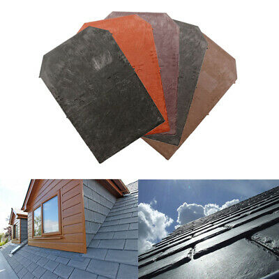 Tapco Plastic Roof Slate Tile - Porch Conservatory Shed Lightweight Shingles   • 29£